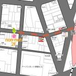 神田キャバクラ【non-non】100%現役女子大生ラウンジ 地図